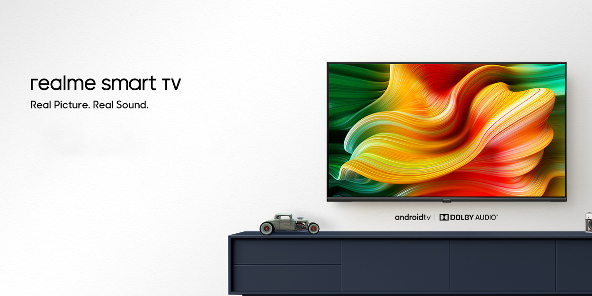 Realme Debuts First Tvs W Google S Android Tv Affordable Prices Dolby Audio