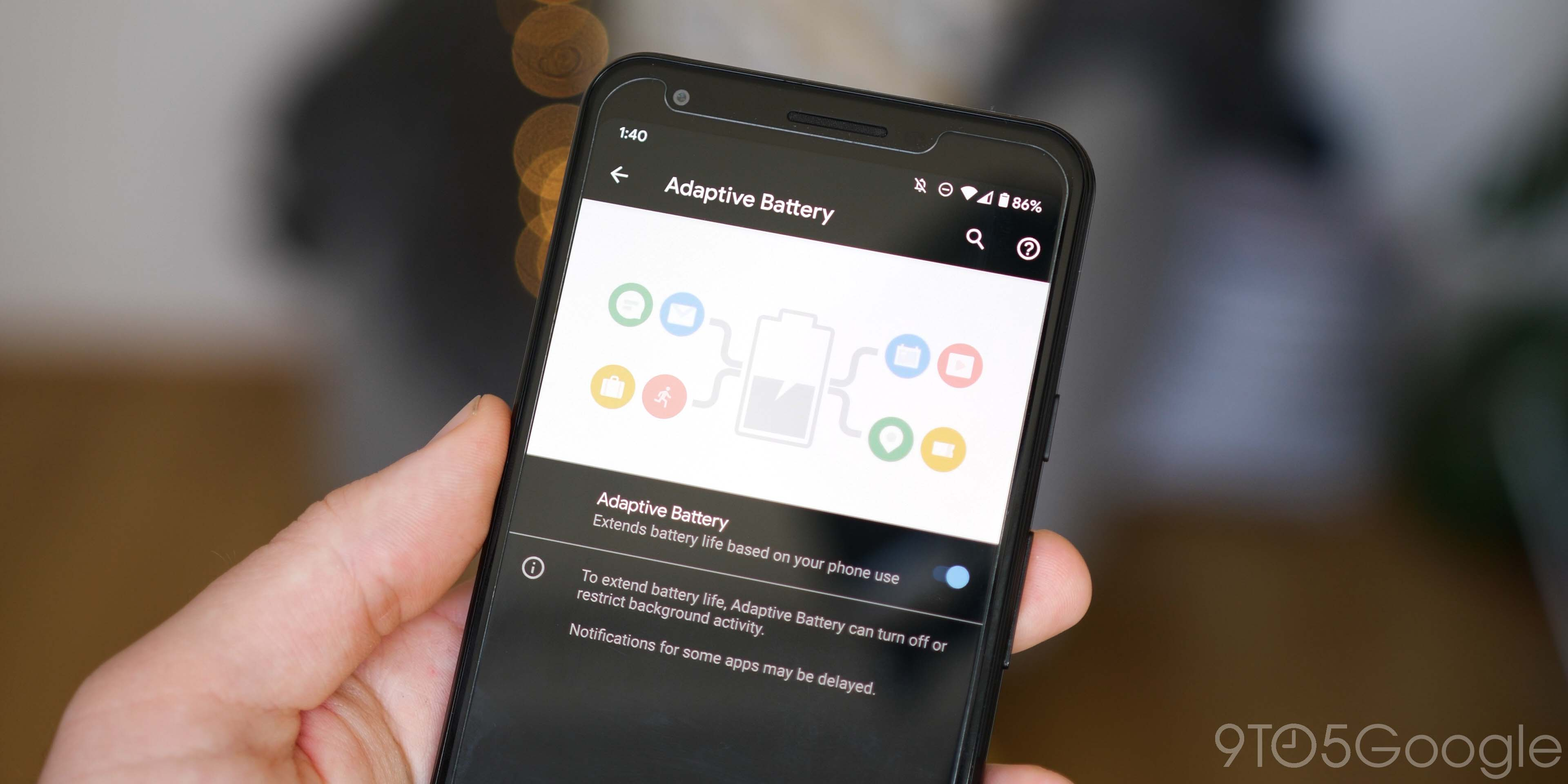 june pixel feature drop - adaptive battery