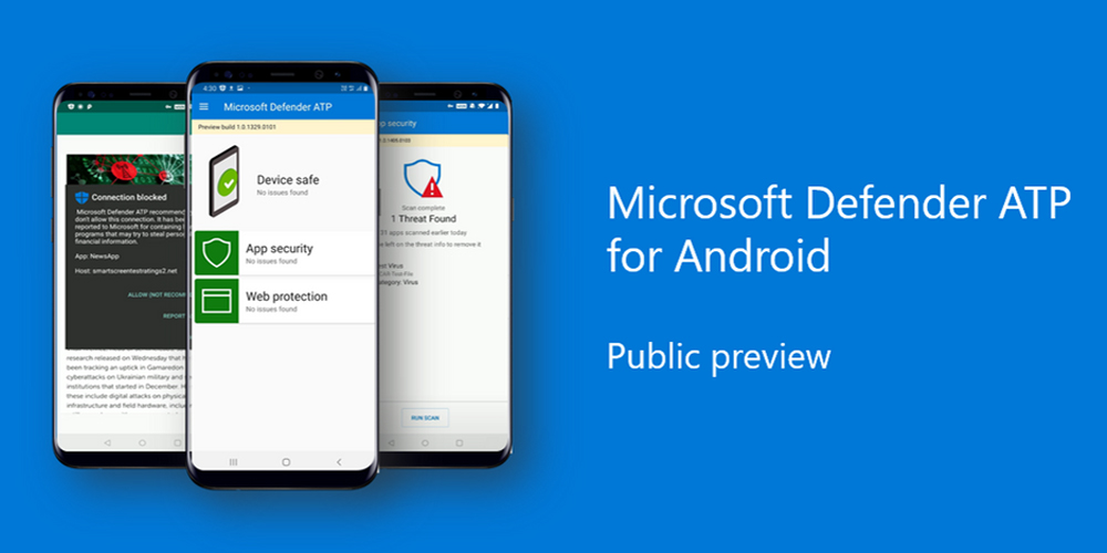 Microsoft's Defender antivirus is now available on Android - 9to5Google thumbnail