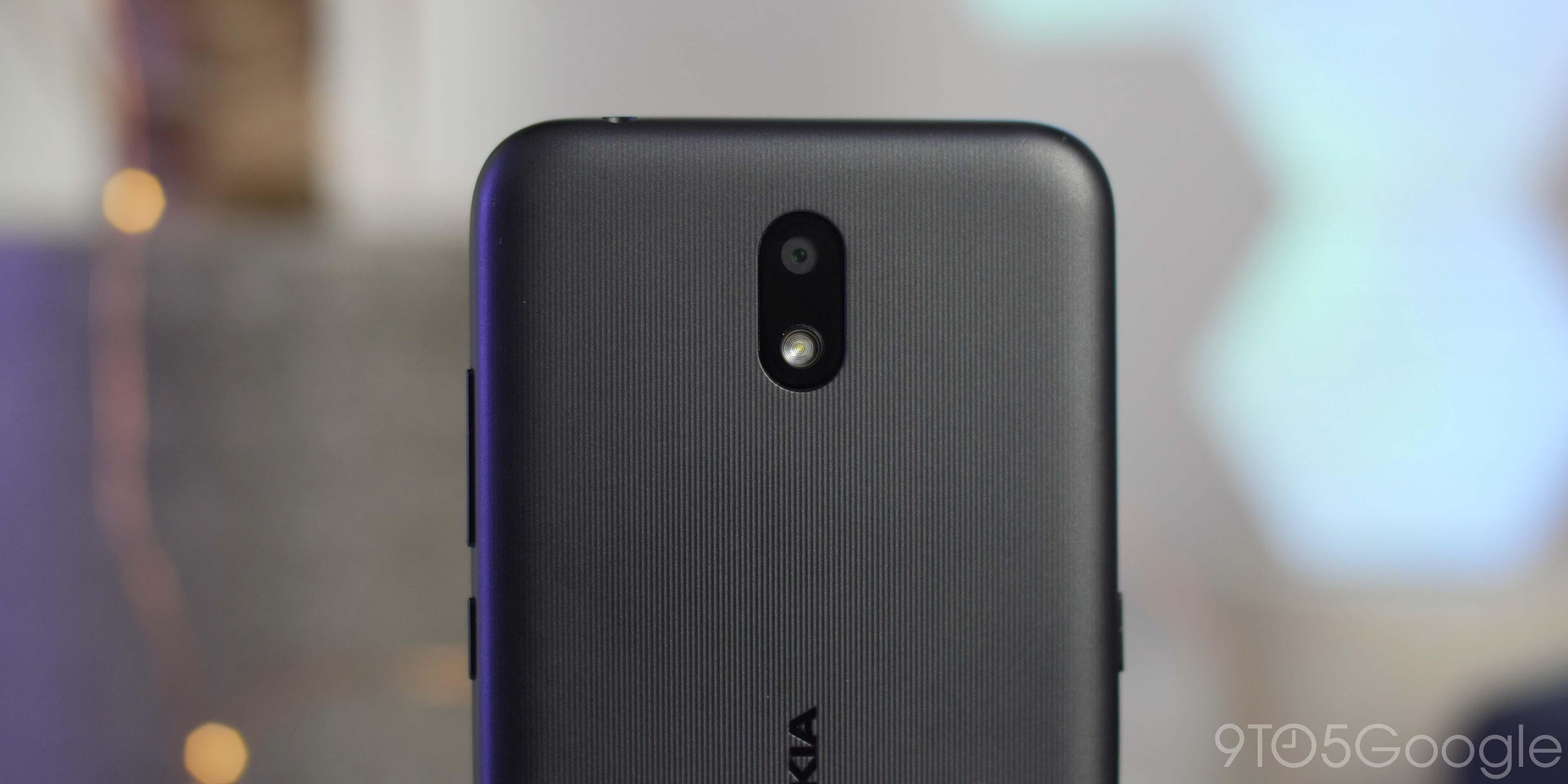 Nokia 1.3 camera