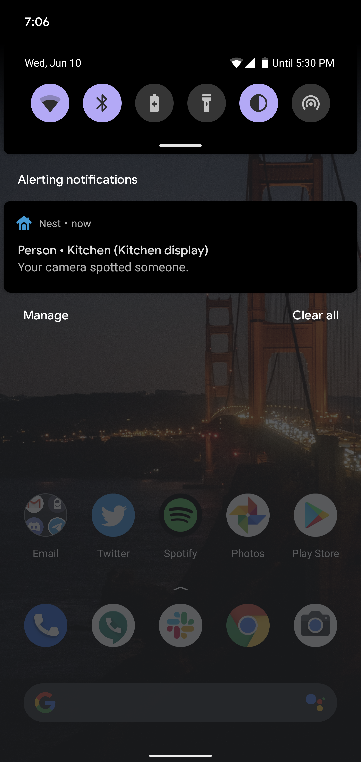 nest notifications android 11 beta 1