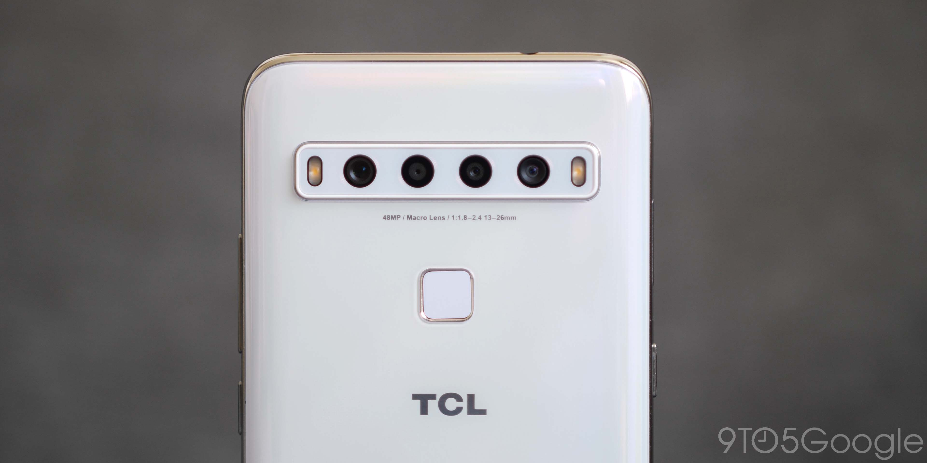 TCL 10L camera