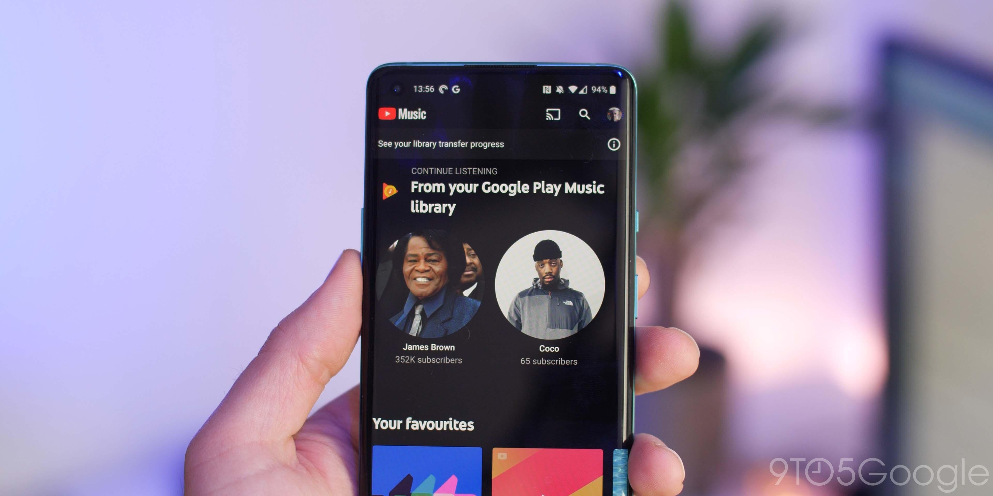 google play music transfer