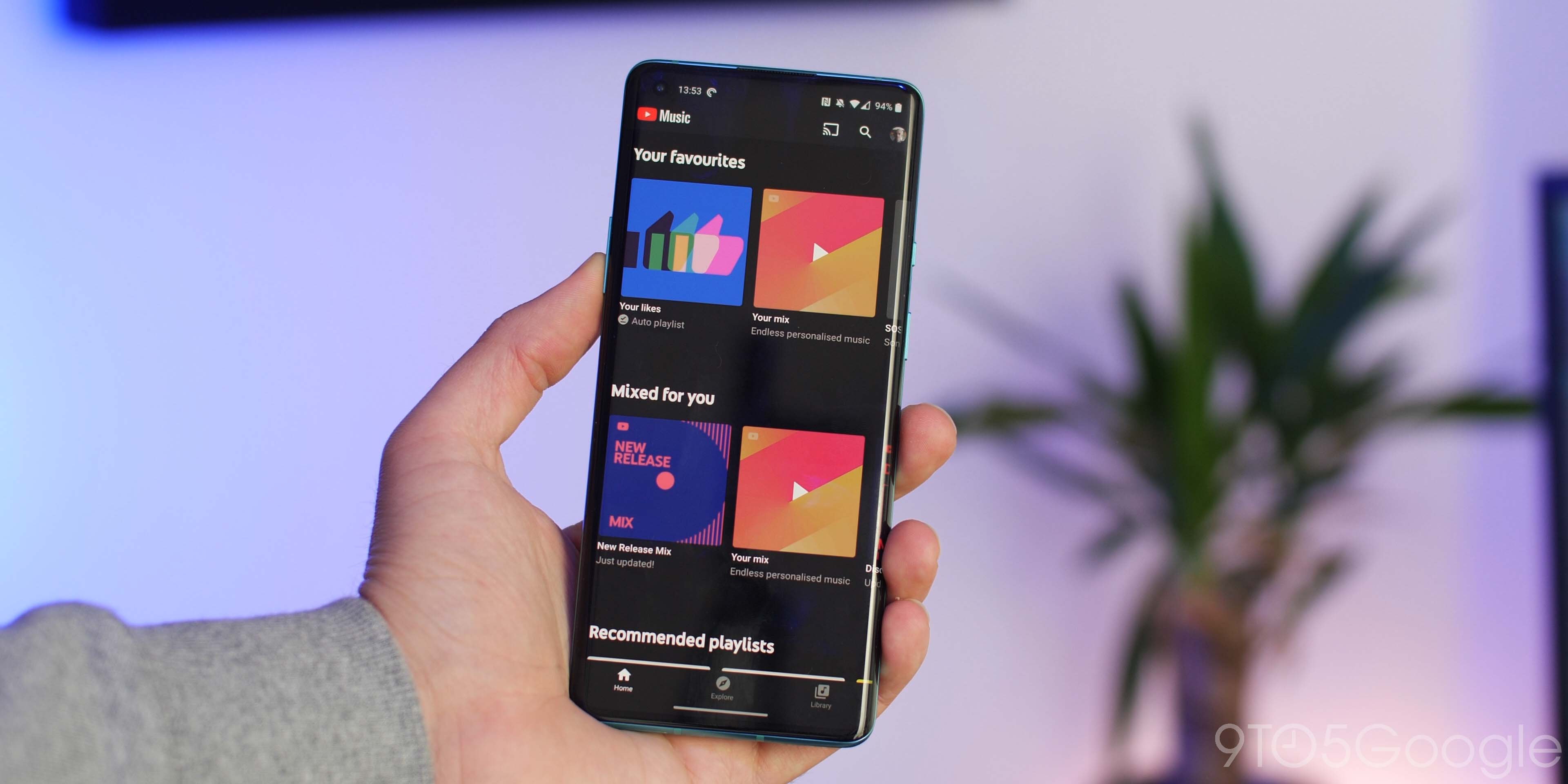 YouTube Music tests 'Recent activity' section that works like Play Music