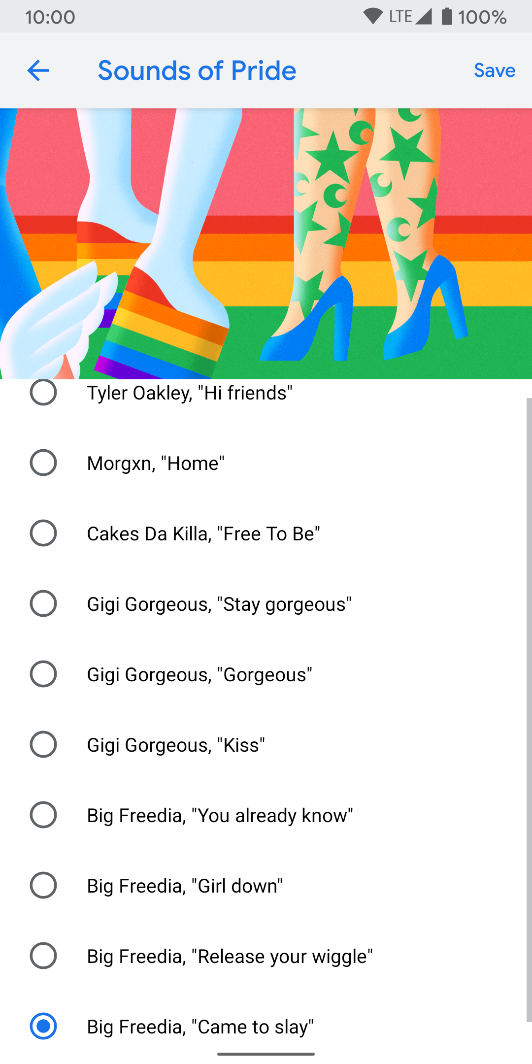 Google Pixel Sounds of Pride Notifications