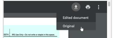google chrome pdf edited download