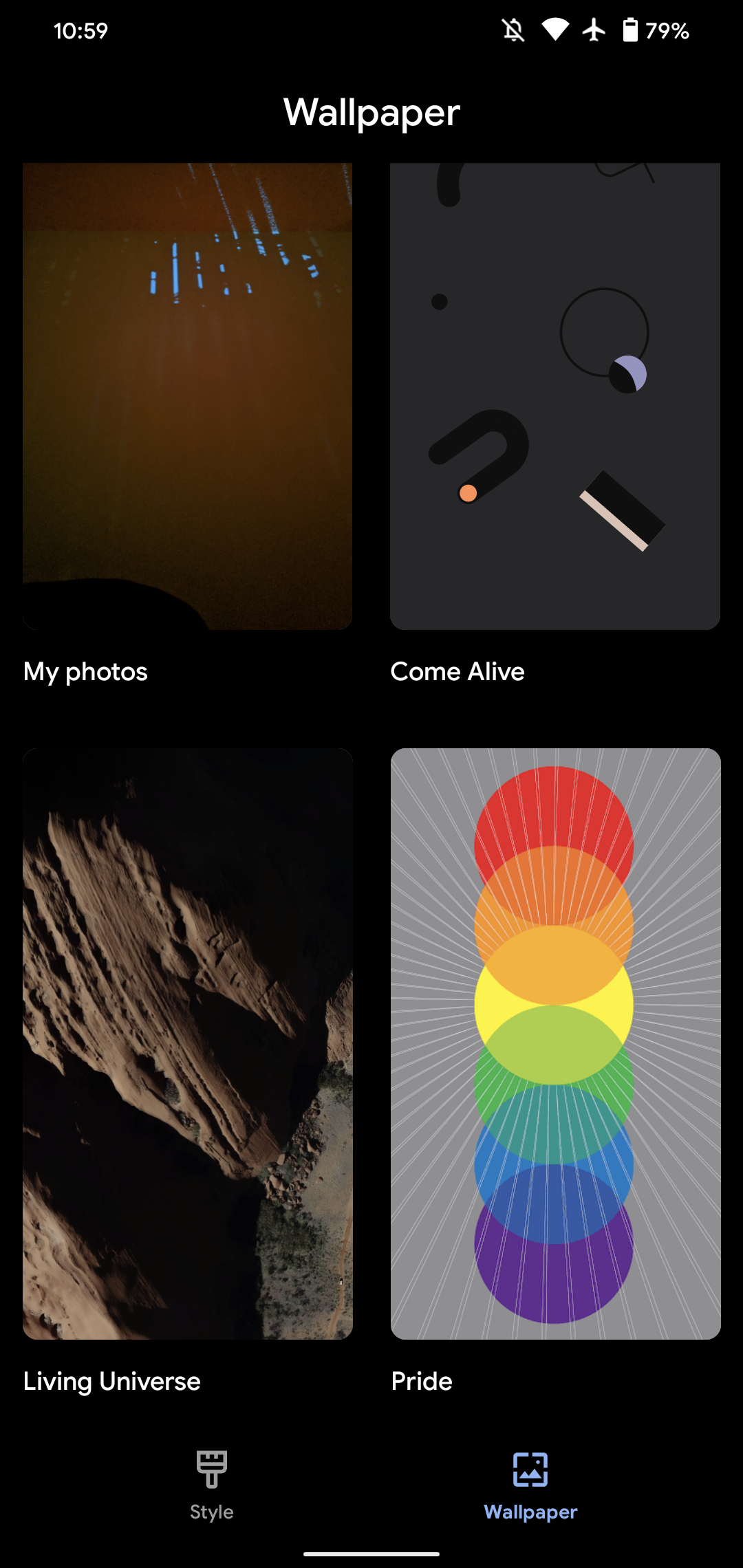 Google Wallpapers For Android Adds New Pride Backgrounds 9to5google