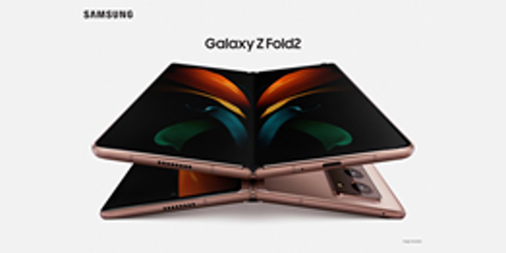 Galaxy Z Fold 2 render