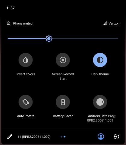 android 11 beta 2 recording
