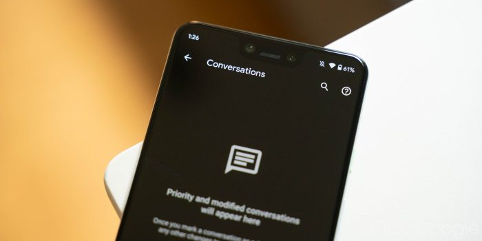 android 11 beta 2 conversations
