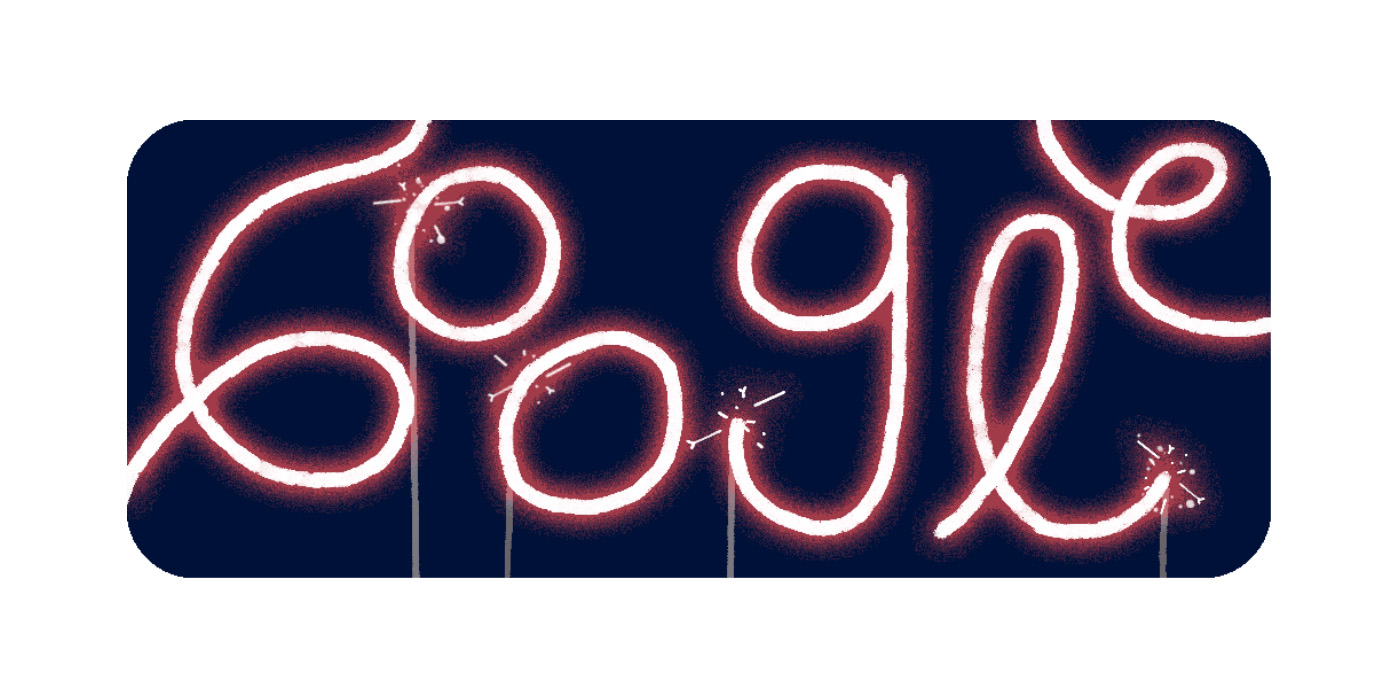 Google celebrates Fourth of July w/ animated homepage Doodle, fireworks on Search - 9to5Google