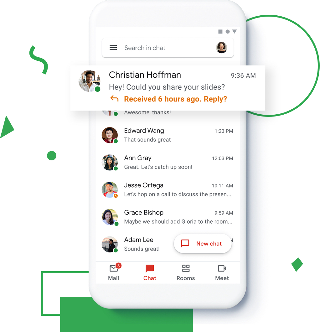 new gmail g suite 3
