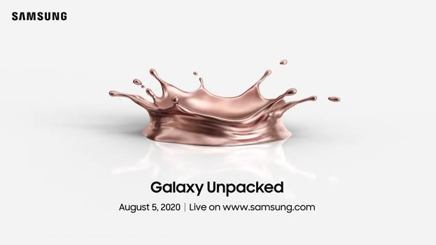 samsung galaxy note 20 launch teaser date
