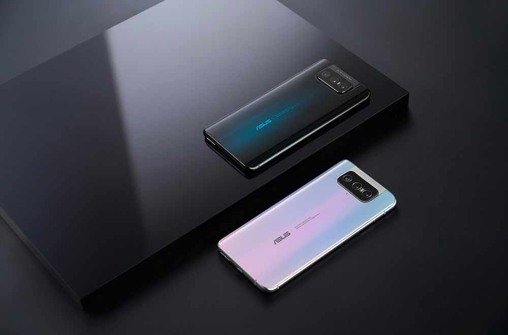 Official images of Asus Zenfone 7 and 7 Pro