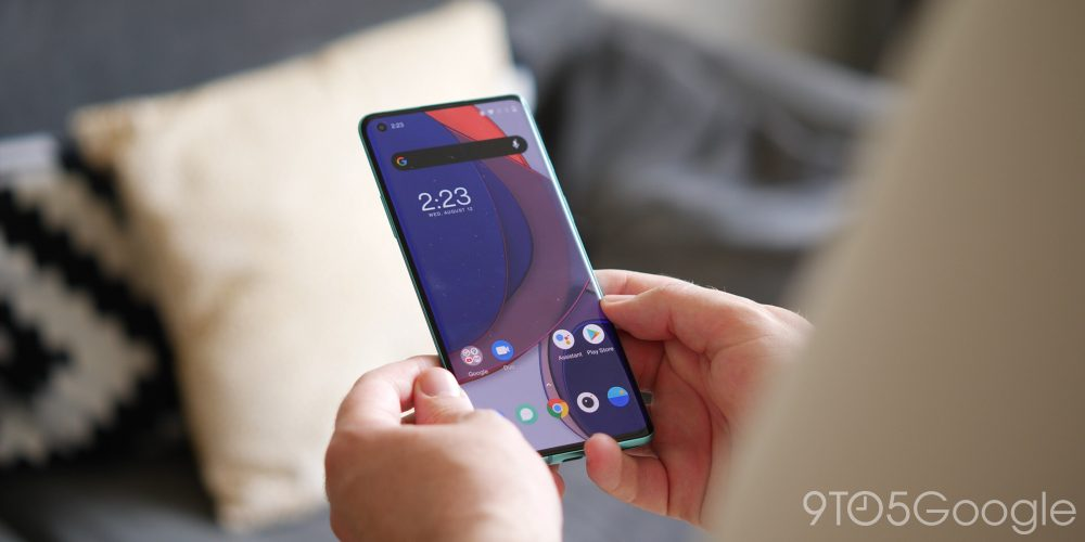 OxygenOS 11 new live wallpaper