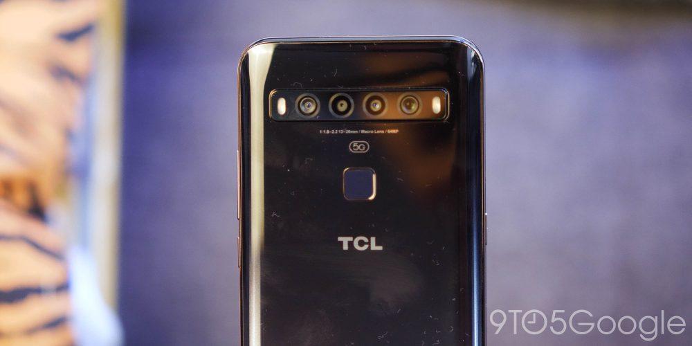 TCl 10 5G camera