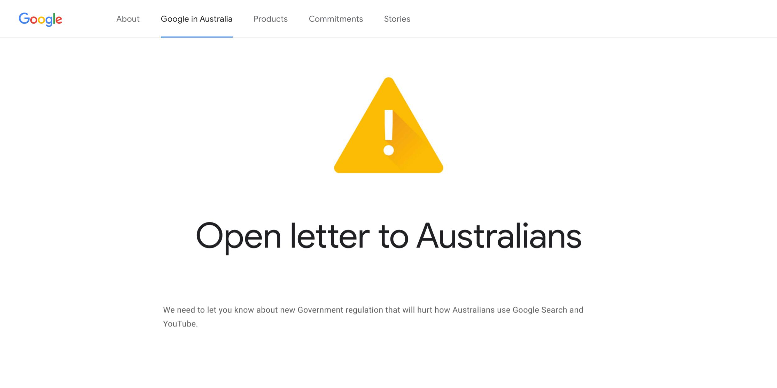 Google appeals directly to Australian users over proposed 'News Media Bargaining Code' – 9to5Google