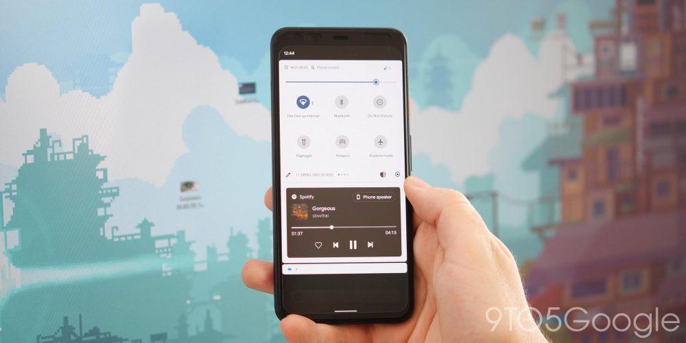 Android 11 Beta 3 - media player tweaks