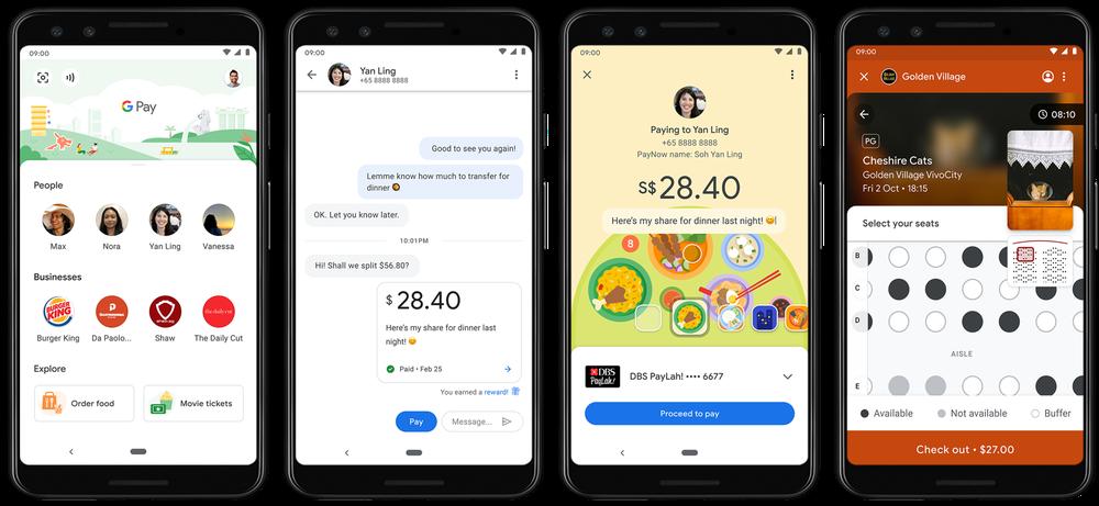Google Pay Split a Bill feature