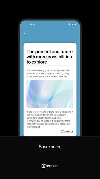 OnePlus Notes app