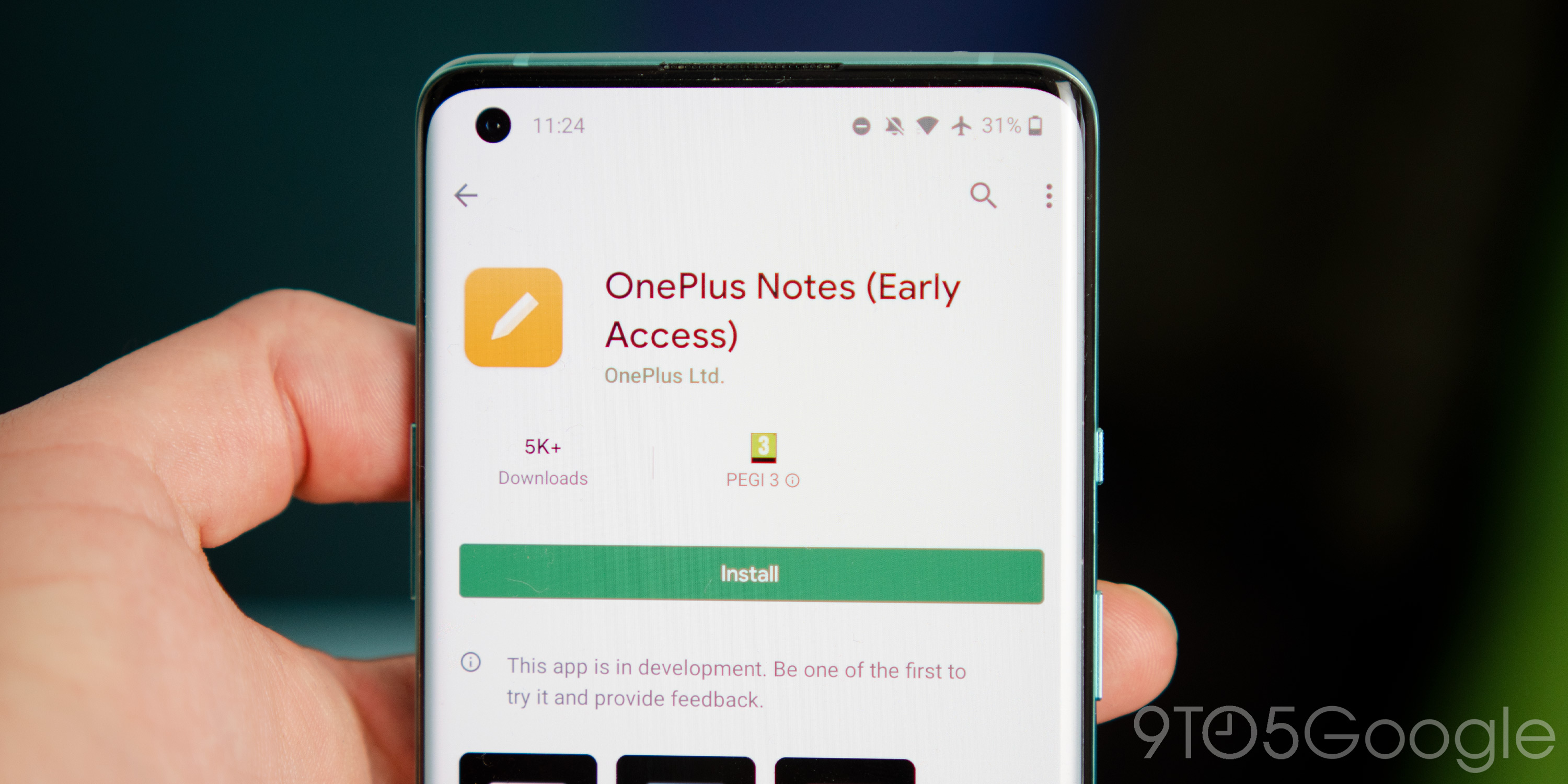 OnePlus Notes app arrives on Play Store in early access w/ OxygenOS 11 design - 9to5Google