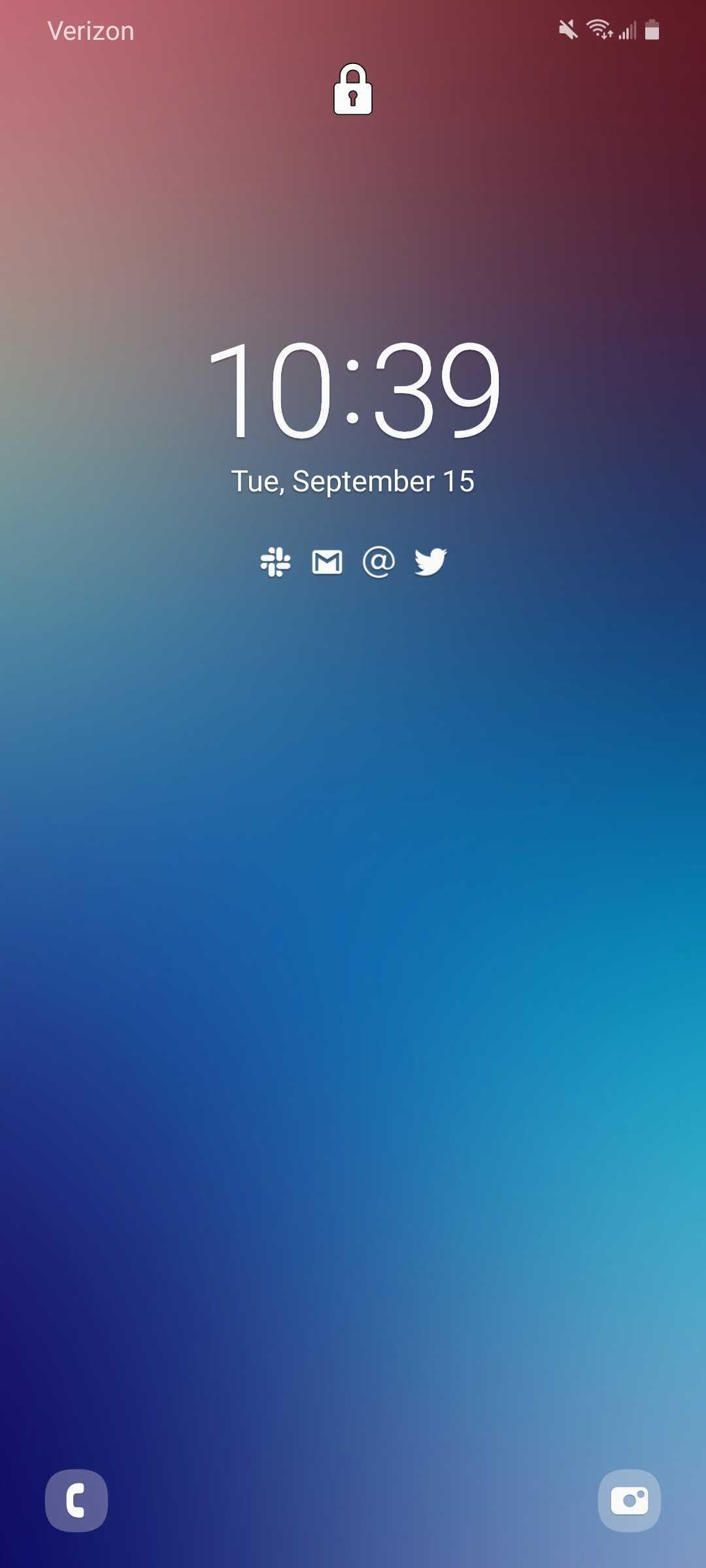 samsung android 11 lockscreen
