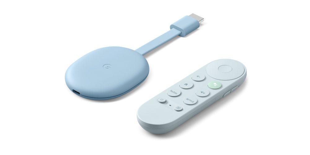 chromecast with google tv sky blue