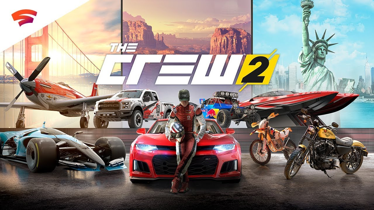 Google Stadia Pro members can play The Crew 2 for free this weekend