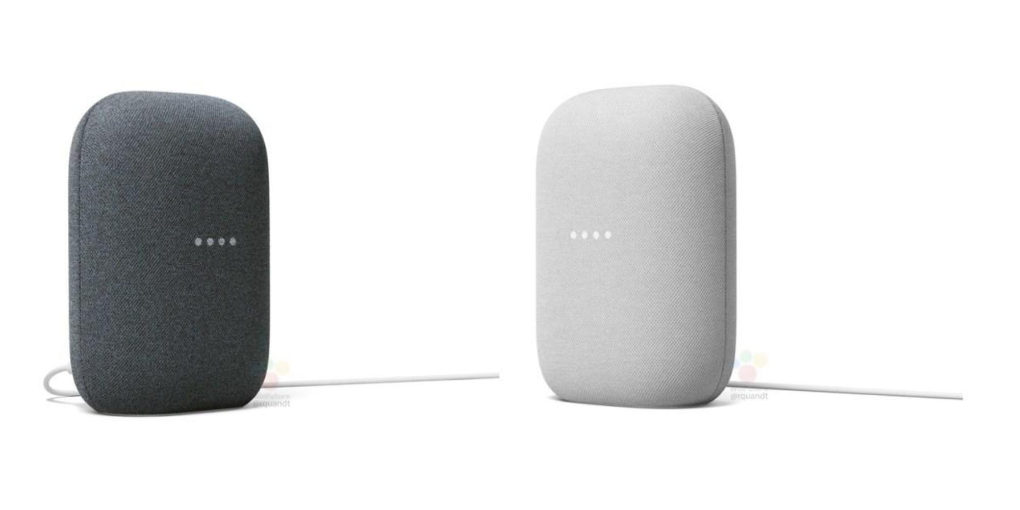 Nest Audio product images leak in 'Chalk' and 'Charcoal' [Gallery] - 9to5Google