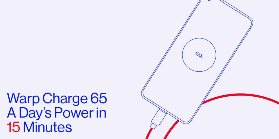 oneplus 8t 65w warp charge