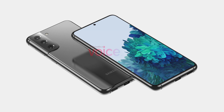 Galaxy S21 renders