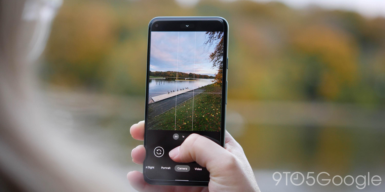 pixel 5 camera ui