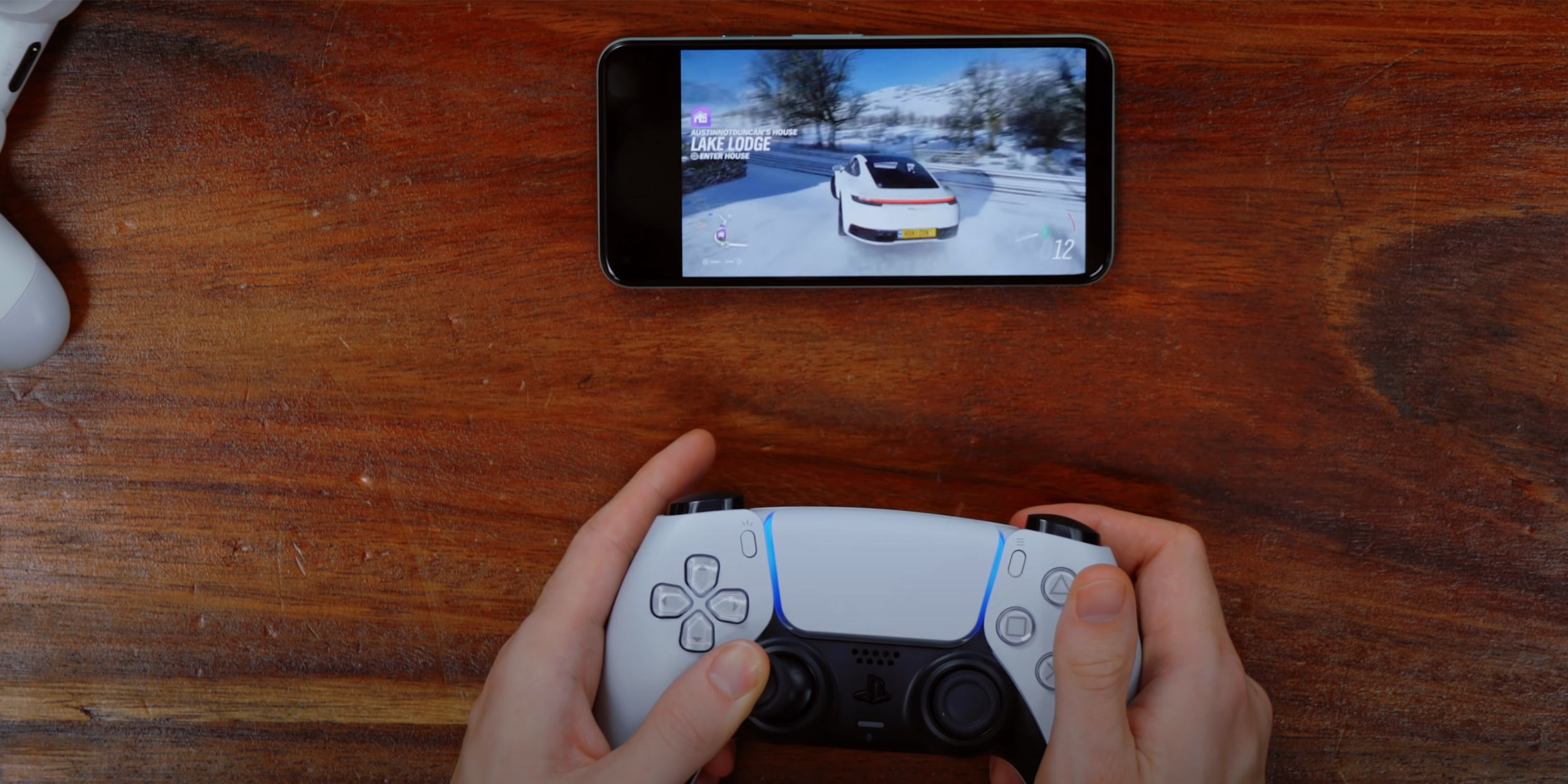 PS5 controller works with Android but ...