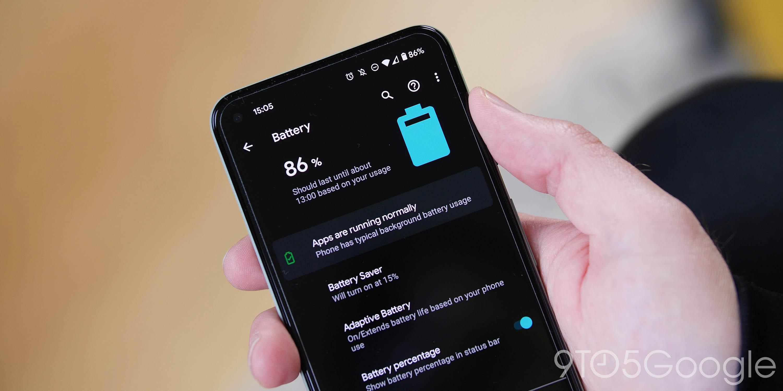 Pixel 5 battery