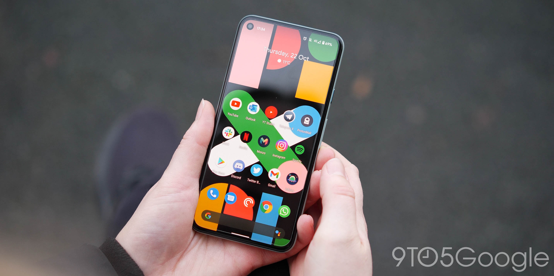 pixel 5 display