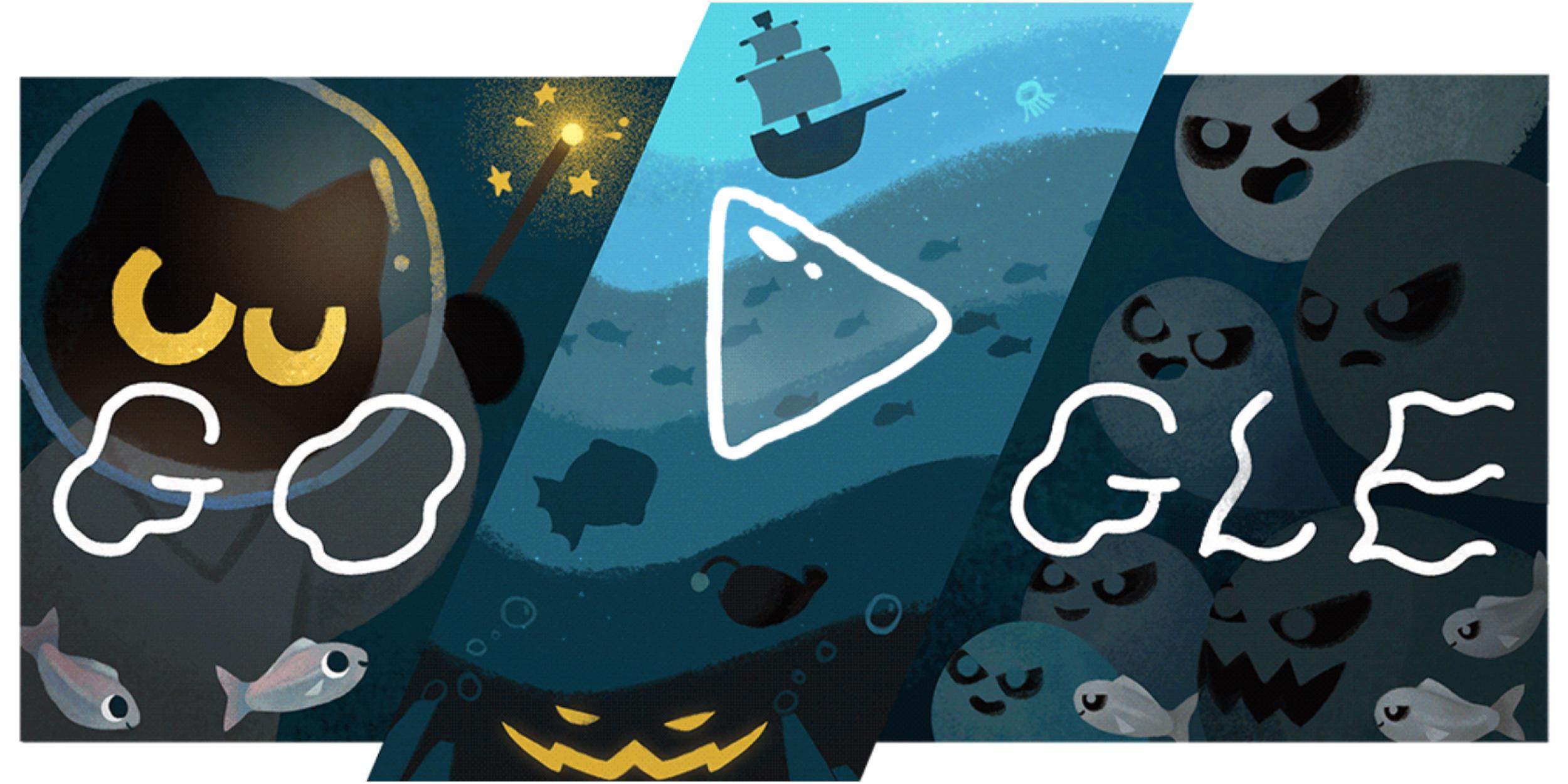 15+ Google Doodle Cat