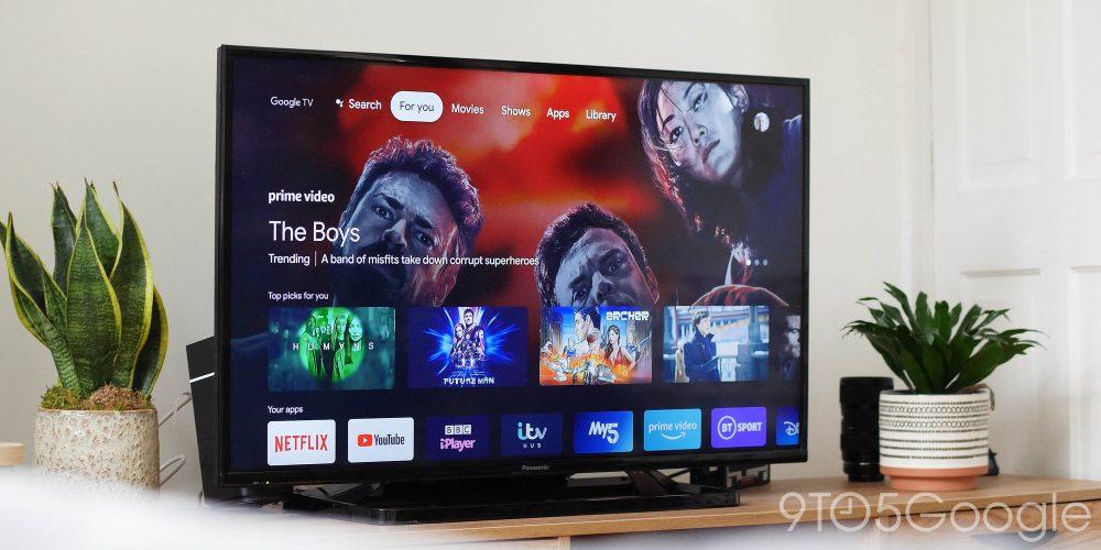 google tv homescreen