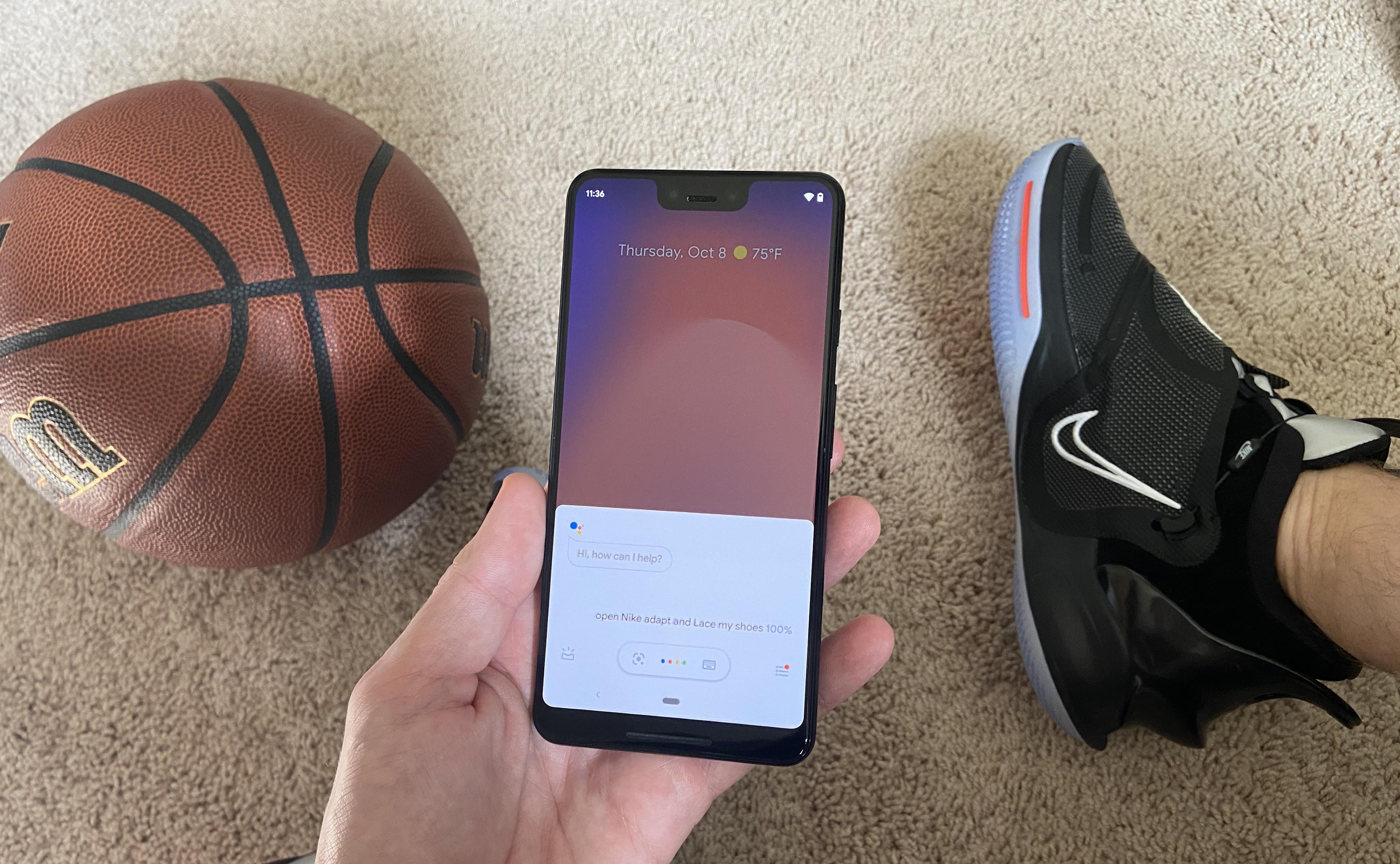 يمكن لـ Google Assistant الآن ربط حذائك - إذا كان لديك Nike Adapt [Video] -9to5Google