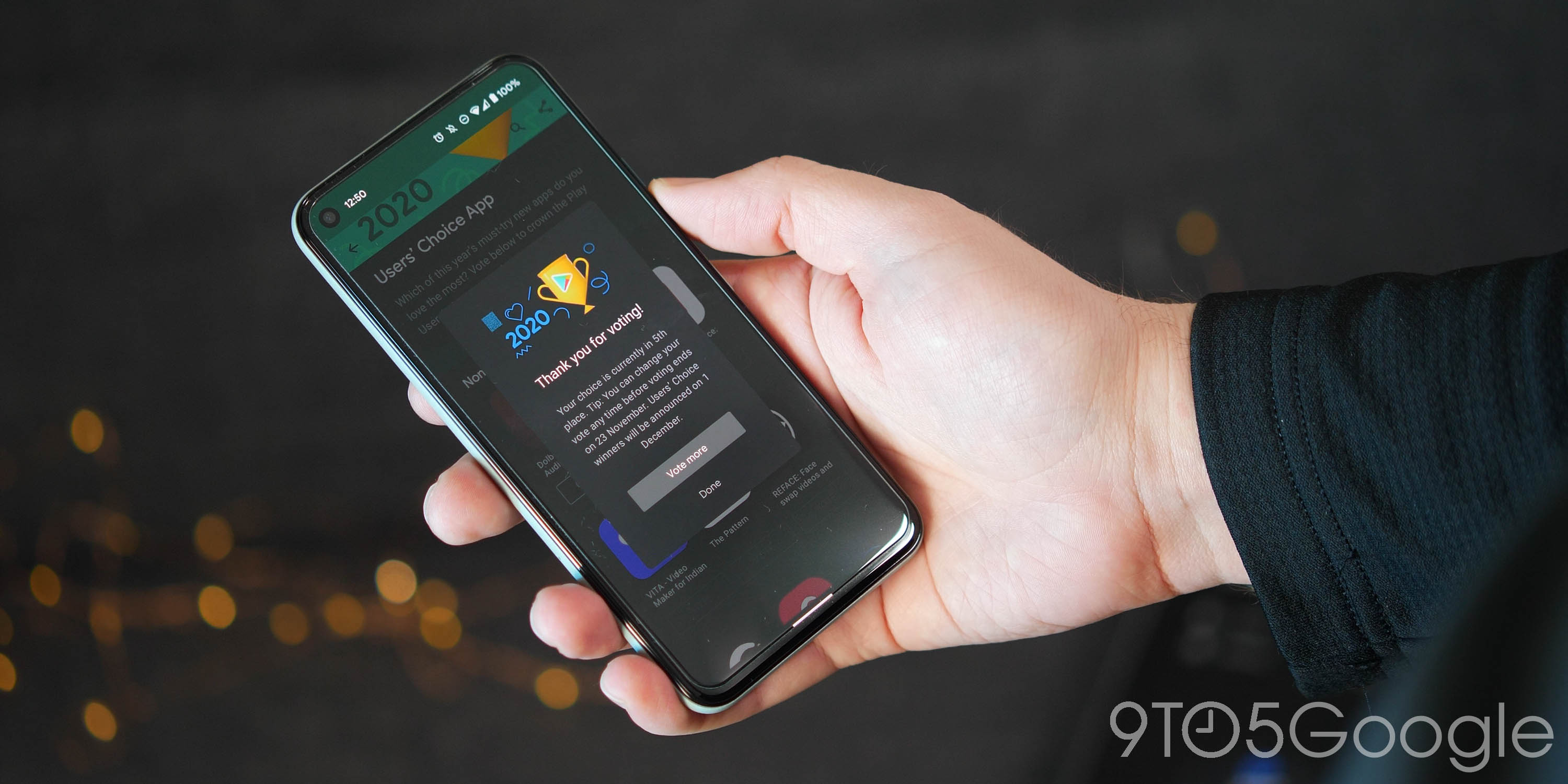 users choice awards apps