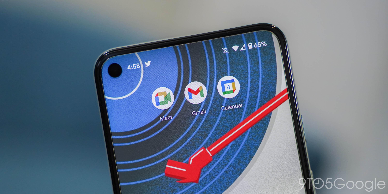android gmail google Meet calendar icon