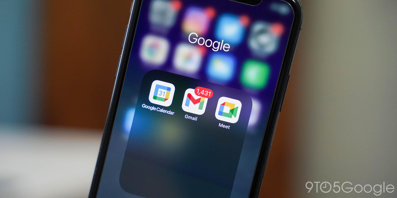 iphone google icon Calendar gmail response
