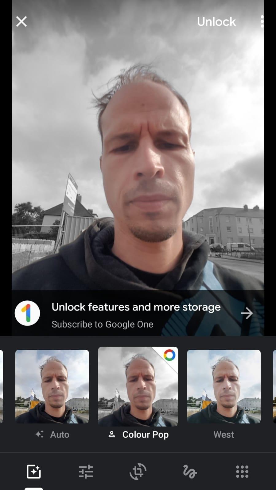 Google Photos Google One Color Pop