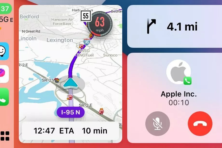 waze carplay dashboard beta