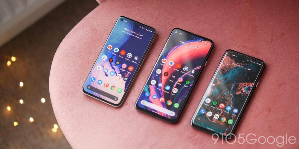 2020 pixel lineup displays