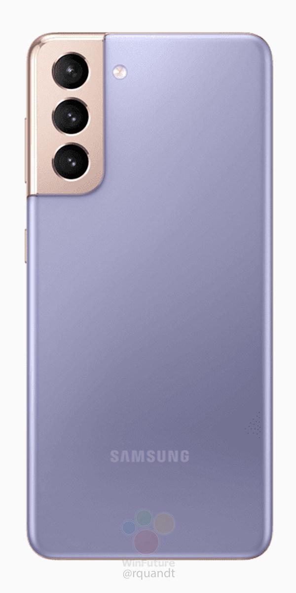 Galaxy s21 press renders