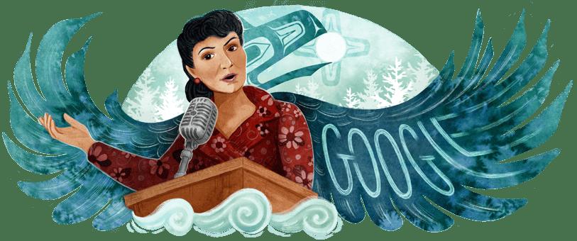 Elizabeth Peratrovich Google Doodle