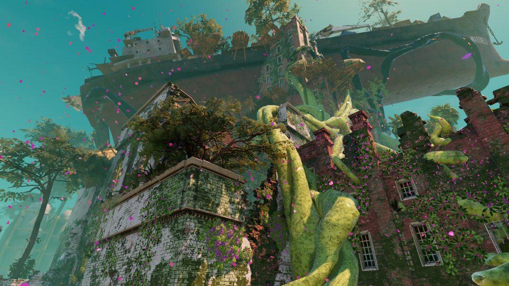 Submerged: Hidden Depths scenery