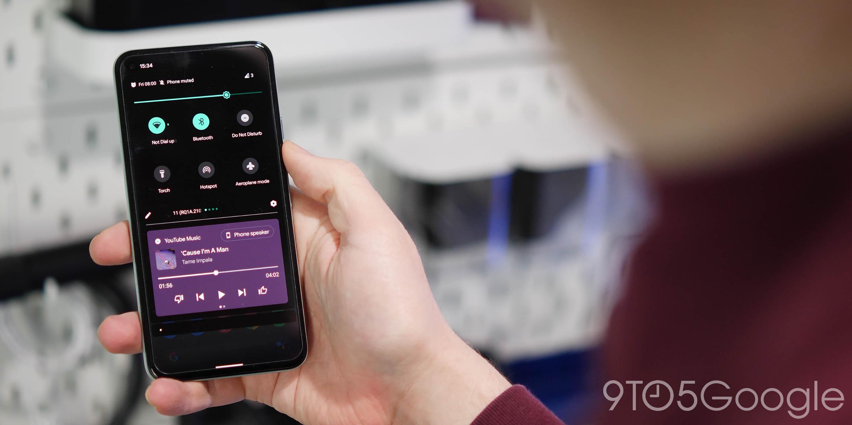 android 12 wish list - tweaked media controls