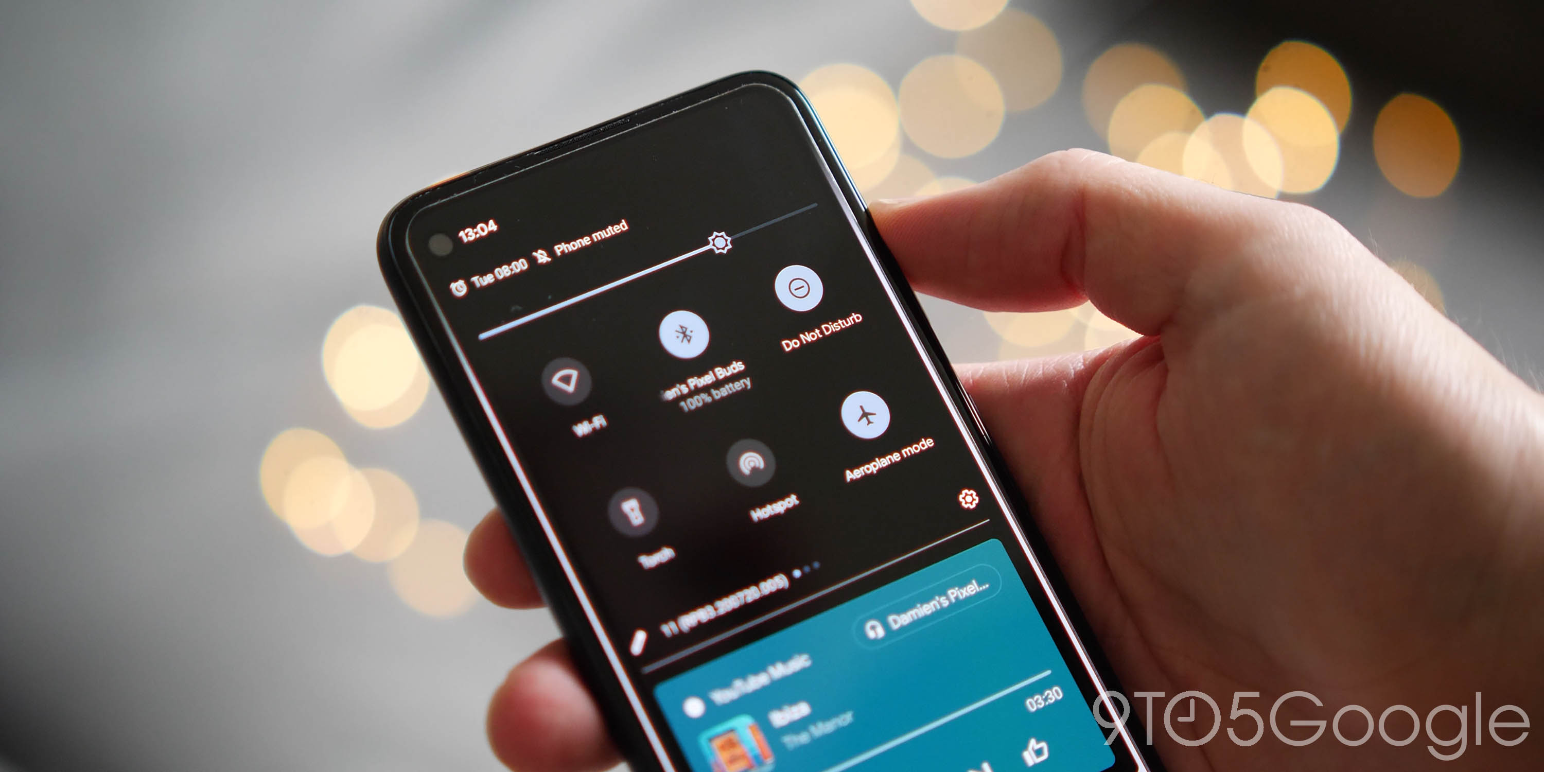 android 12 wish list - notification shade toggles