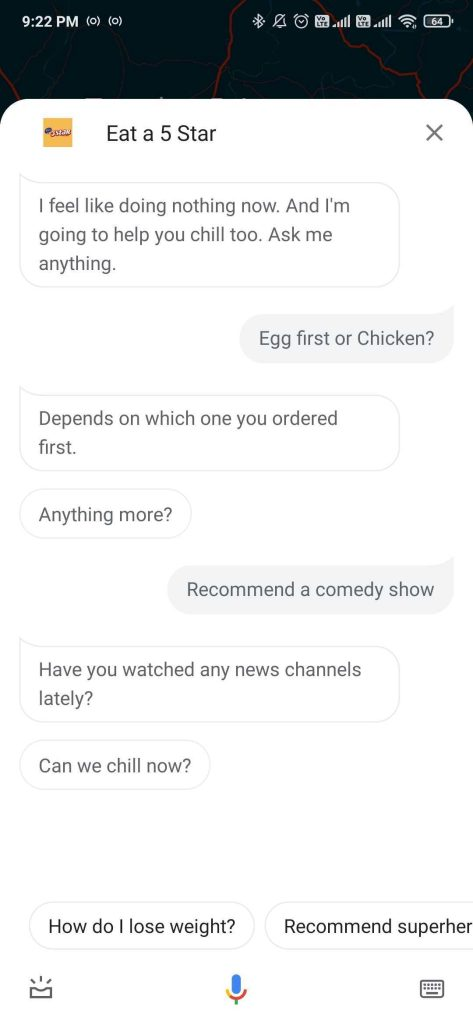 google assistant do nothing mode
